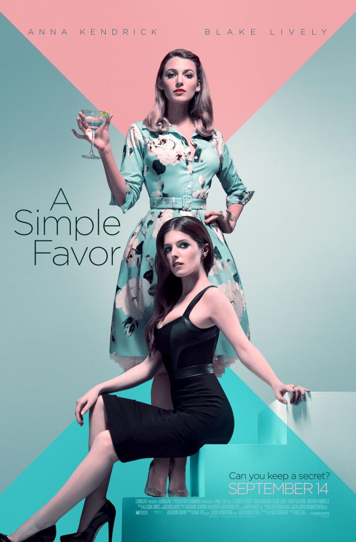 A Simple Favor 2018 DVDRip