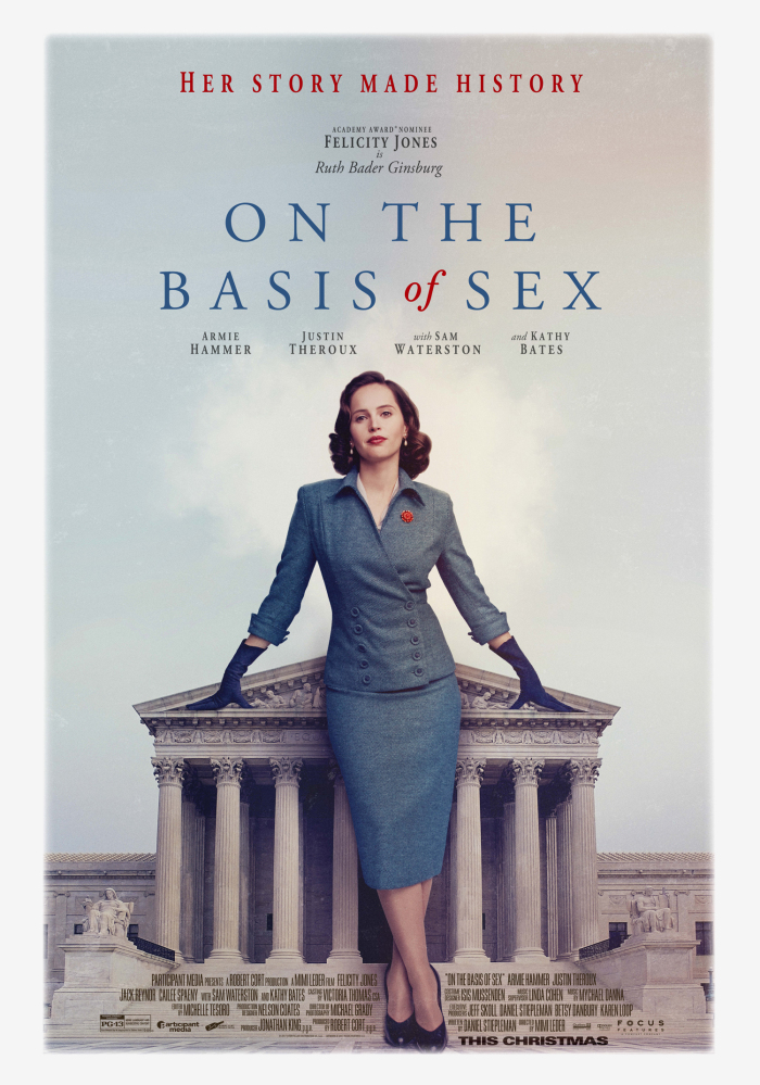 On the Basis of Sex 2019 HDRip