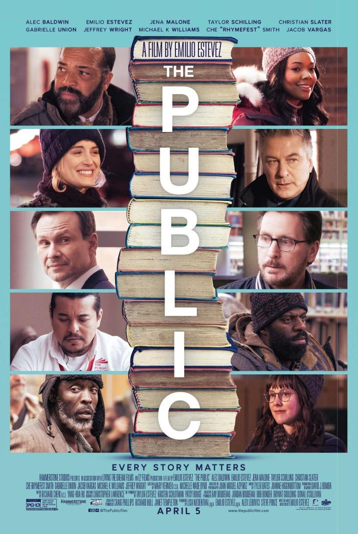 The Public 2019 HDRip