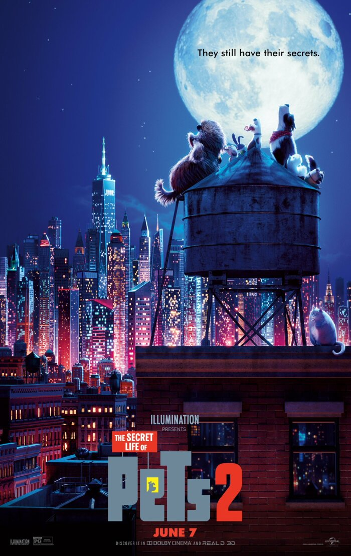 The Secret Life of Pets 2 2019 HDRip