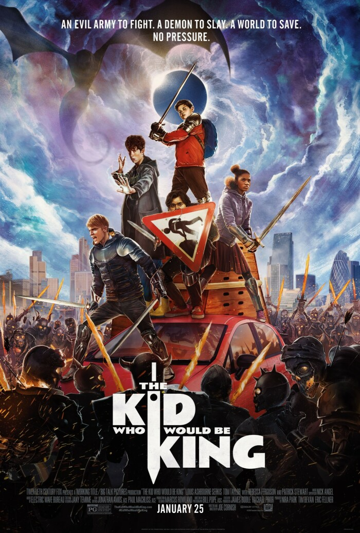 The Kid Who Would Be King 2019 HDRip