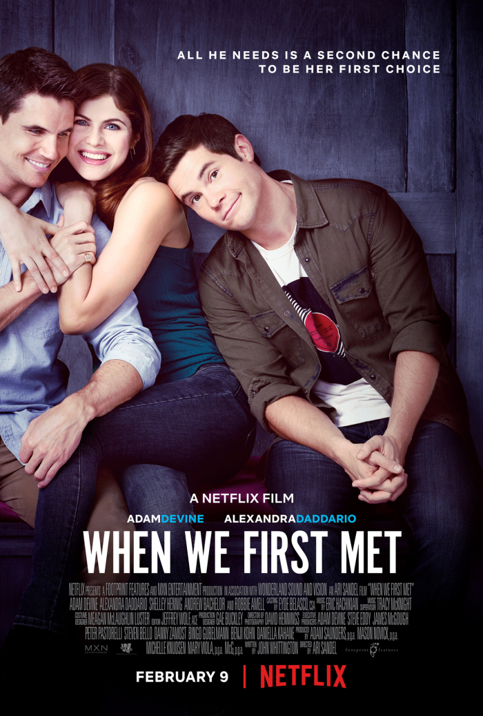 When We First Met 2018 HDRip