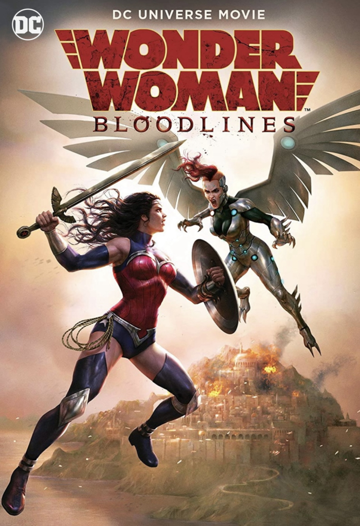 Wonder Woman Bloodlines 2019 BDRip
