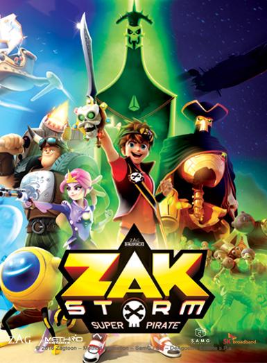 Zak Storm S01E33 Tanah Lost 1080p HEVC x265